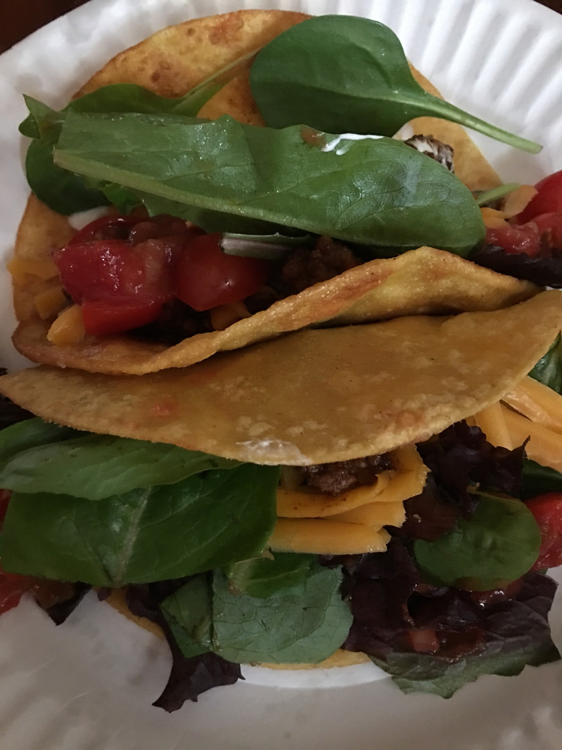 Street tacos are good, but kitchen tacos are better.