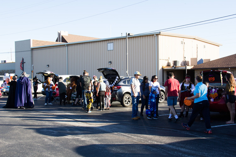 Our Trunk or Treat was a success!