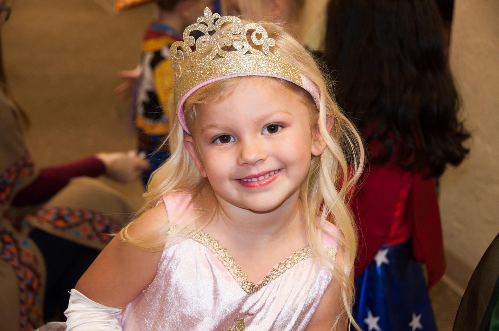 A perfect princess.