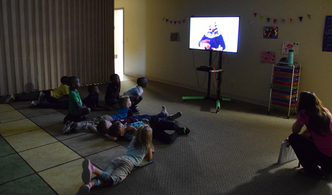 Our Midweek Children's Program took a look at the plagues this week.