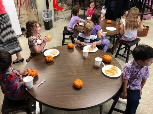 Pancakes, Pumpkins and PJs was a big hit!