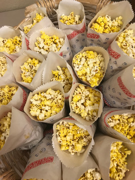 That much popcorn looks so artistic!