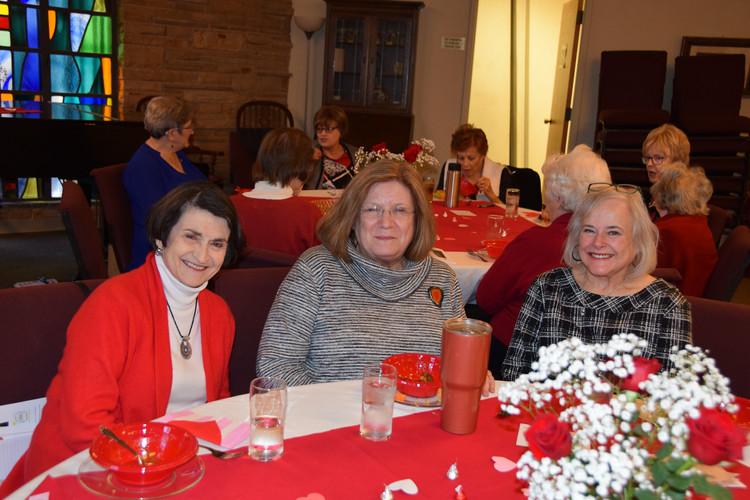 The UMW held their installation dinner!
