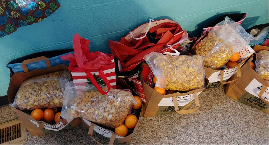And, of course, there were gifts for ALL the Whiz Kids and their families too!