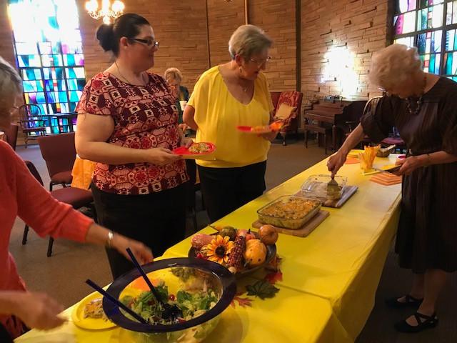 The UMW ladies had their bi-annual general meeting.