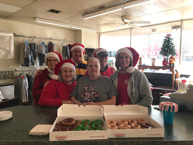 Loads of Love - Christmas Cheer at the Laundromat!