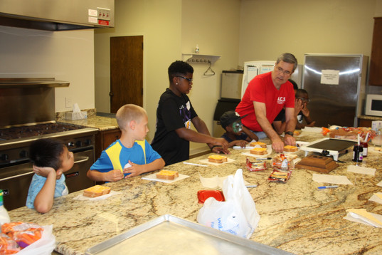At A.C.T.S.4Kids the cooking is always the best part.