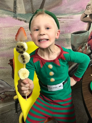 Over the weekend this elf fell off the shelf!