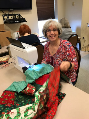 Holy Hands is working on Christmas quilts now.
