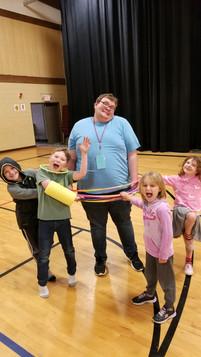 Mason is the best volunteer!