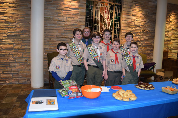 Look at all that Scout Bling!