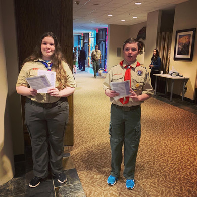 All branches of the Scouts at Chapel Hill participated ...