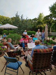 Family and Fellowship had an evening gathering over the weekend.,