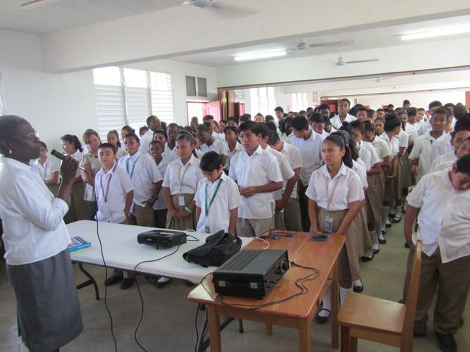 School is different in Belize.