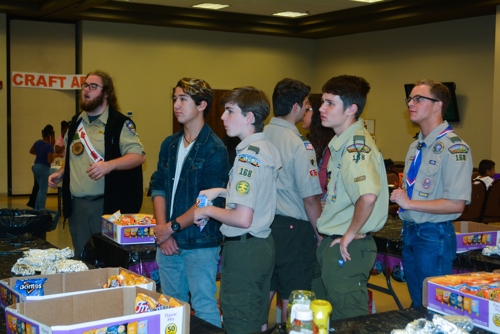 Special thanks to Troop 168!