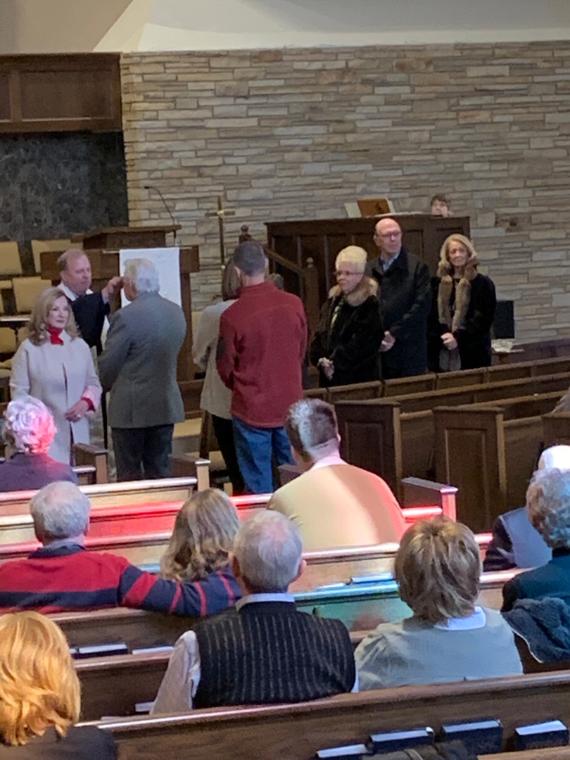 On Sunday we remembered our baptism.