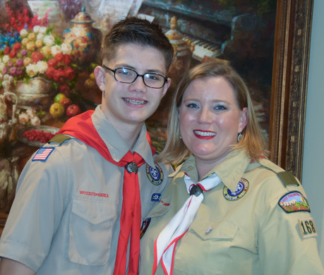 Scouting is a whole family event!