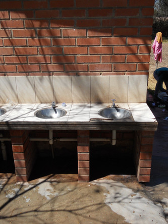 Sinks - provide the water source.