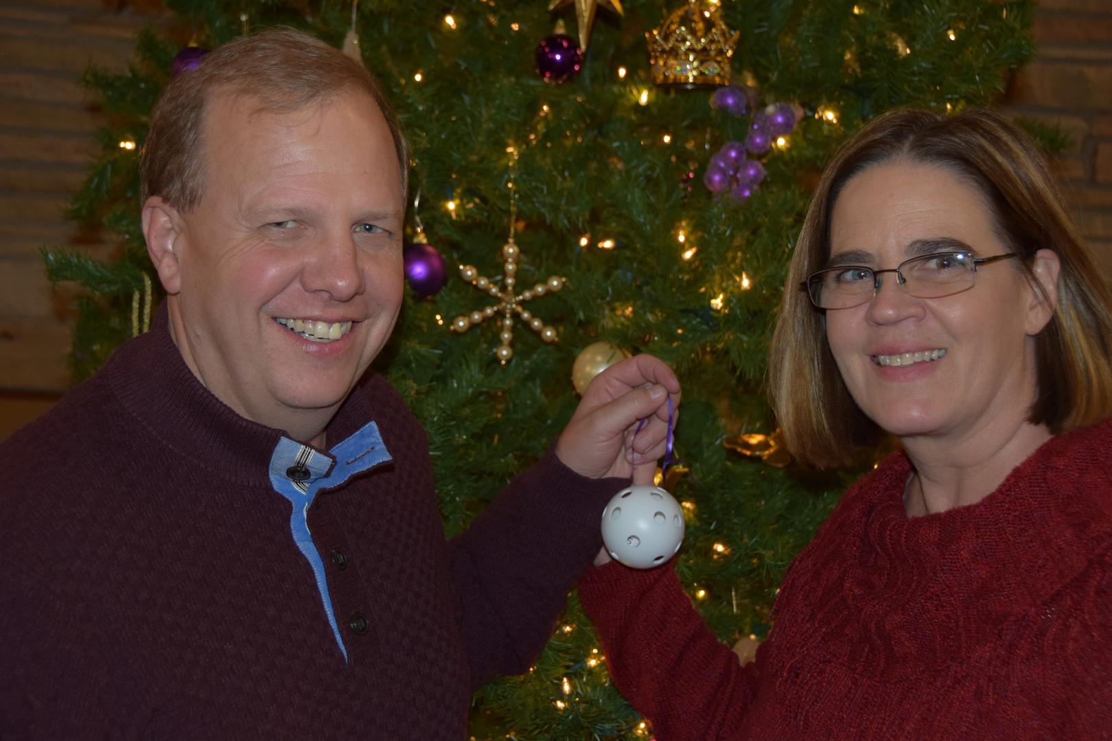 Mark and Elizabeth sharing joy together!