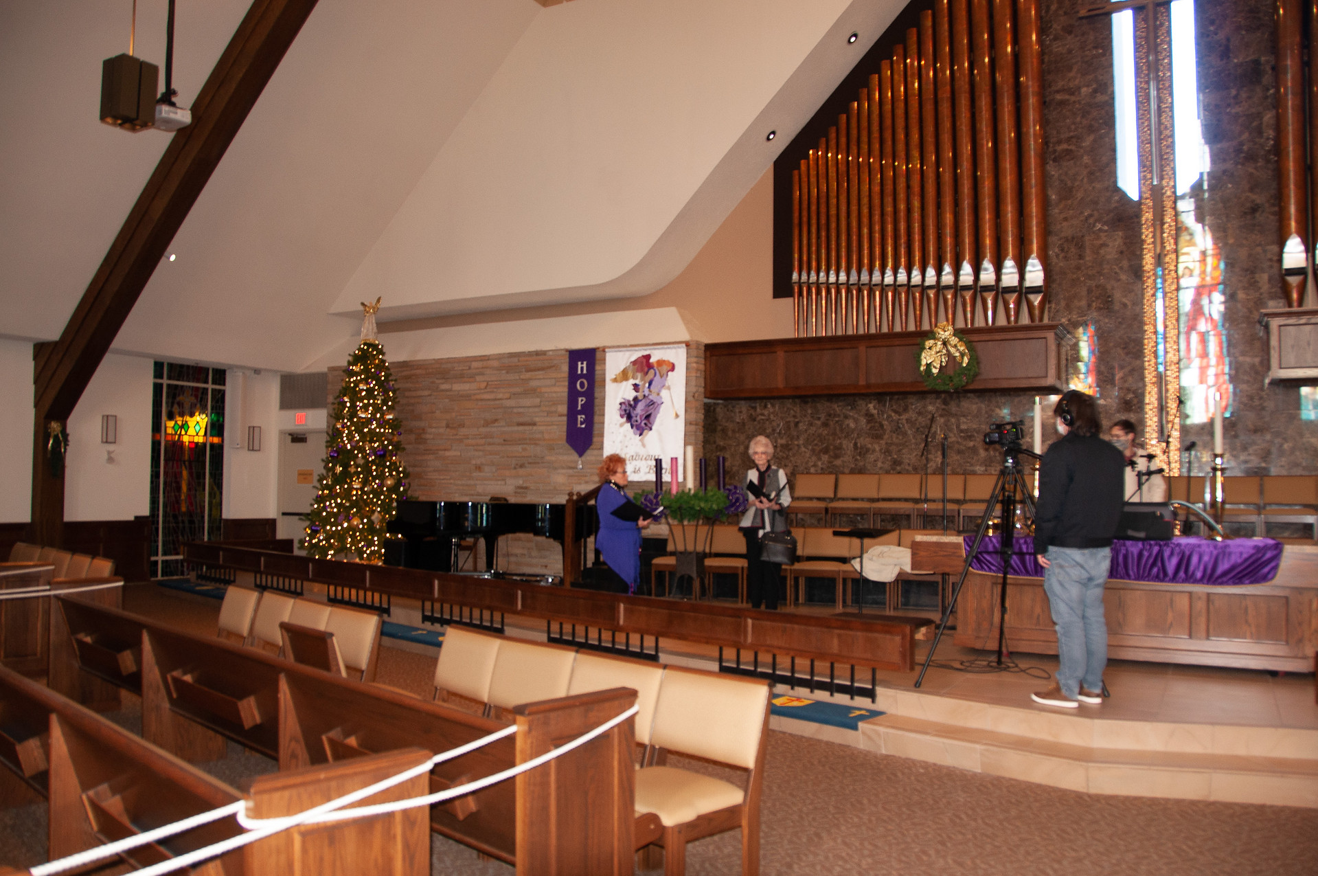 And see ... it's Christmas in the Sanctuary! It's About to Happen!