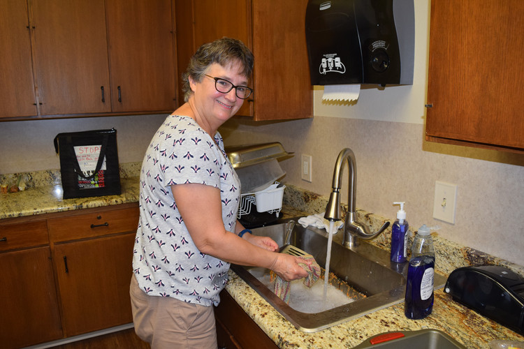 Barb Barrett was determined to move the kitchen into the 21st century.