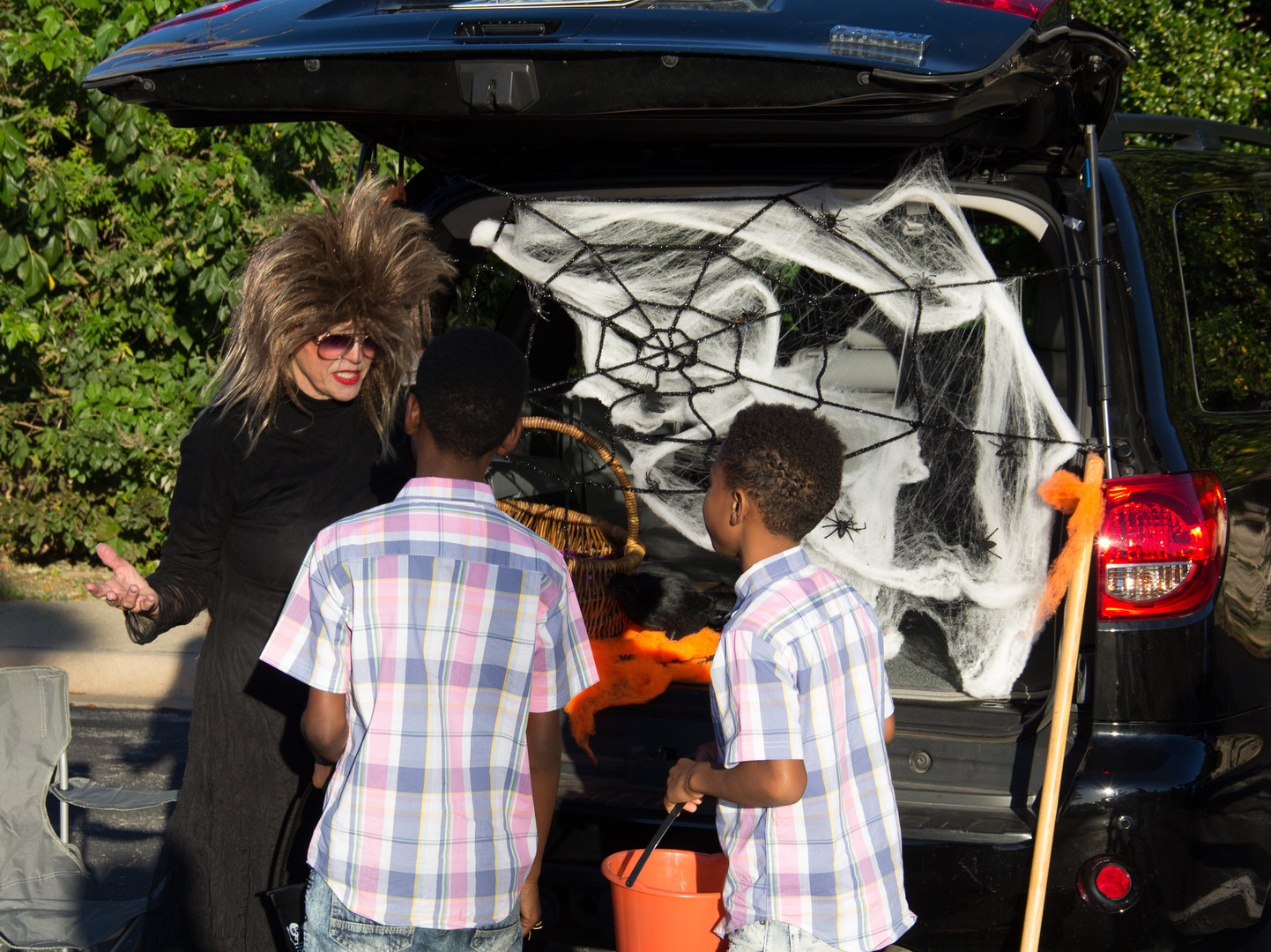 Tina Turner got spooky.