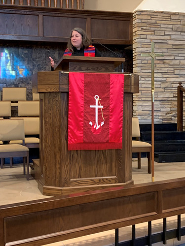 We celebrated United Methodist Women.