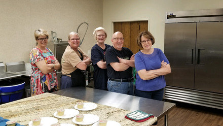 This is THE kitchen crew for Project Transformation
