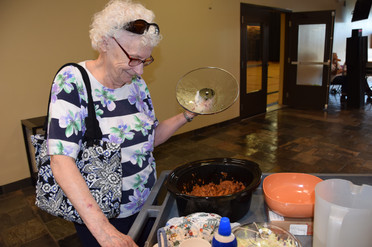 She was delivering supper to Recovery Ministry.