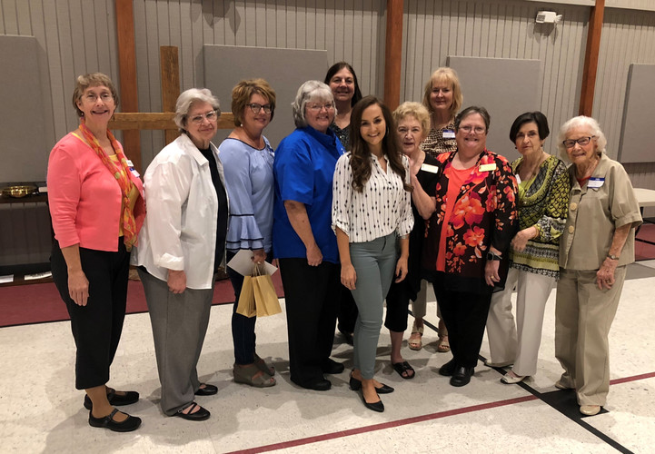 And here are the 2018-2019 UMW officers of the Crossroads District