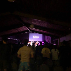 Loved these youth loving their worship.