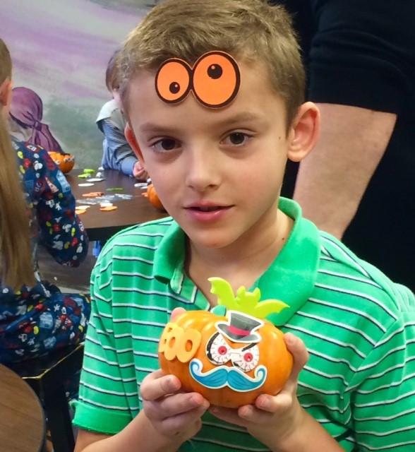 Told you ... decorate a pumpkin