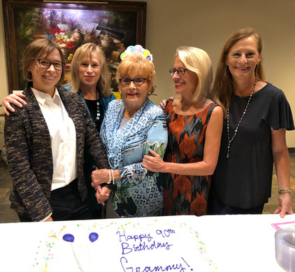 Ms. Joane had her 90th birthday this weekend!