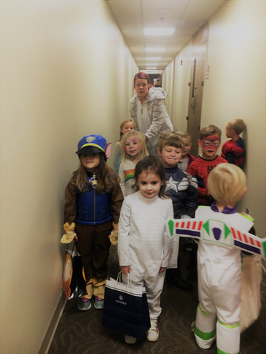 On Wednesday our MDO children took to the halls.