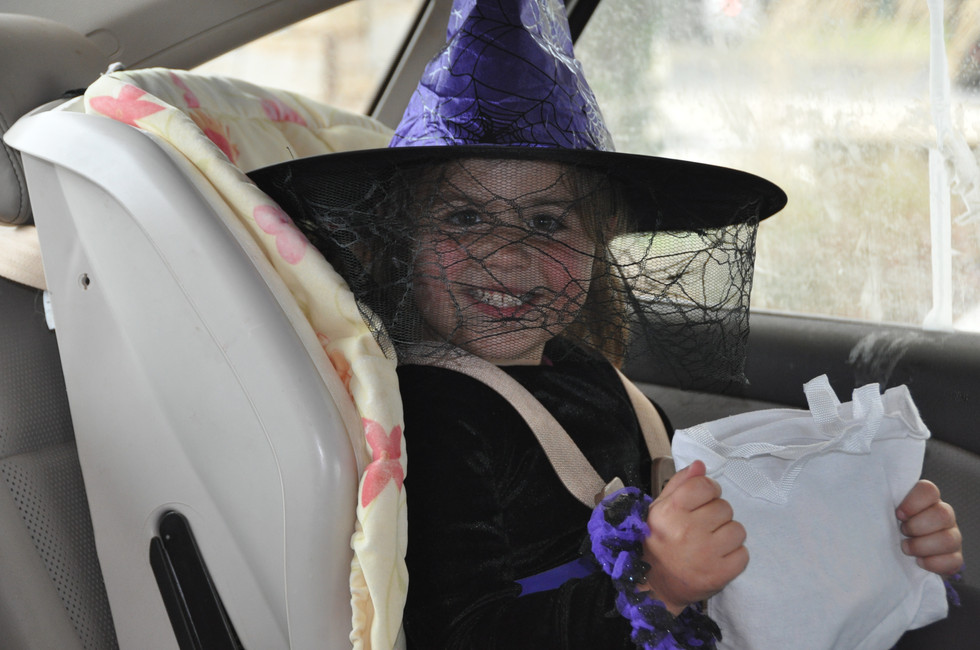 The cutest witch.
