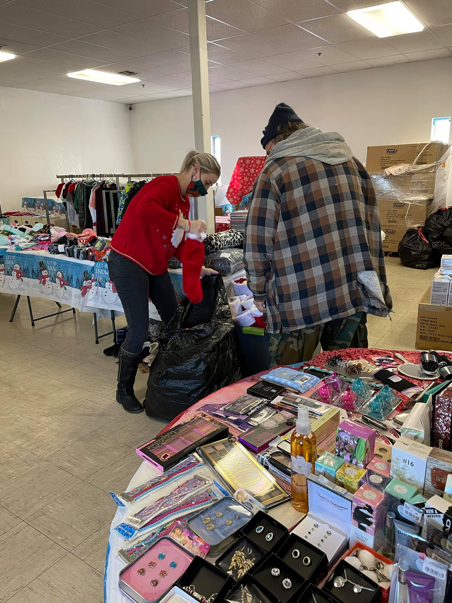 Skyline's Store is Christmas Central for hundreds of Oklahoma City families.
