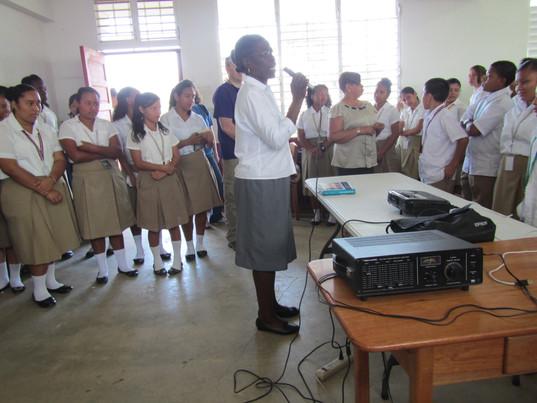 Belize - Providing an Education