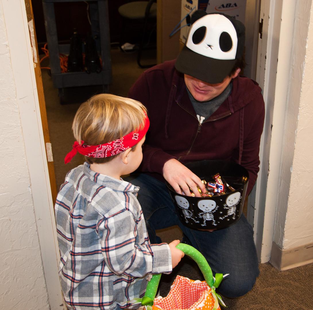 But pandas are friendly!