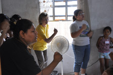 In Mexico Bible School singing