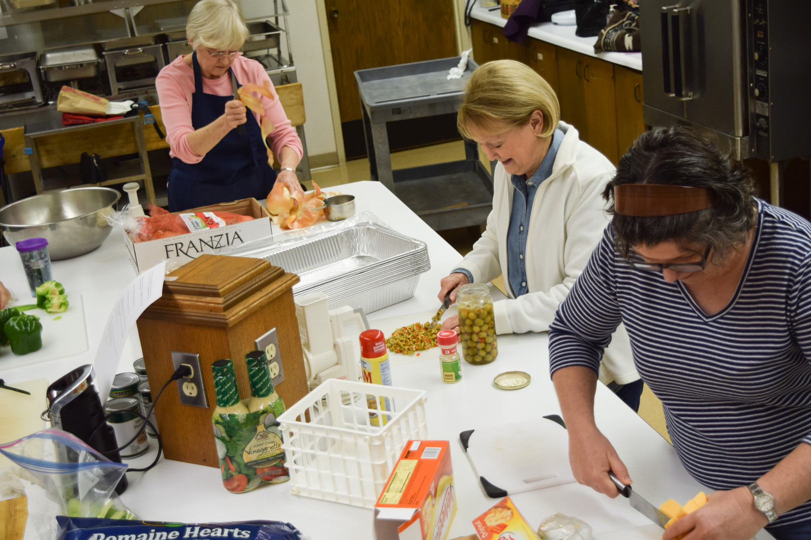The Kitchen at Chapel Hill prepares thousands of meals every year.