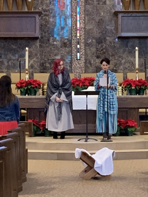 Elizabeth and Mary ...
