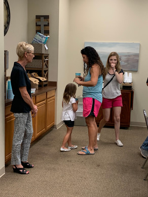 Meet some of the other parents and get to know the church a little.