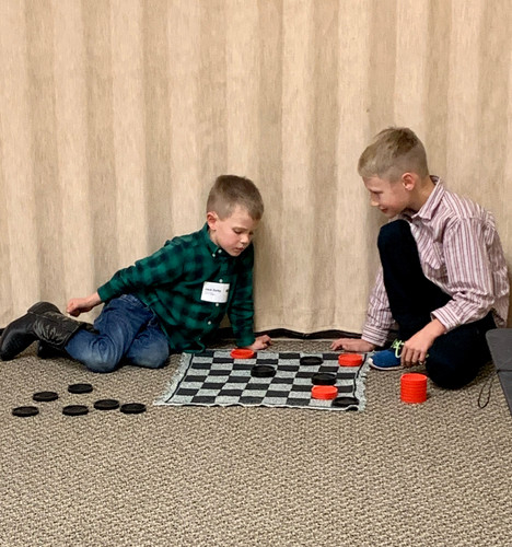 ... And checkers!
