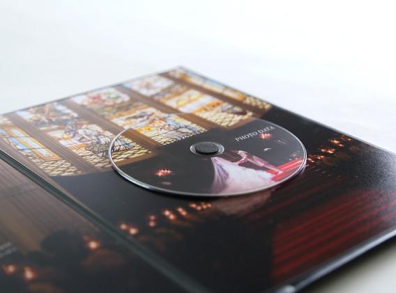 背景画像とマッチしたディスクデザイン