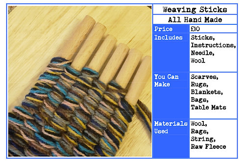 Weaving Sticks Instruction Booklet