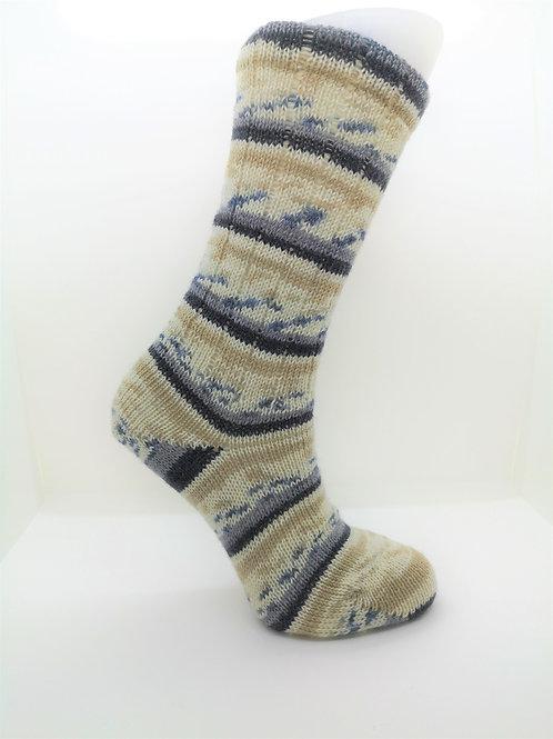 Camo Grey Handcranked Socks