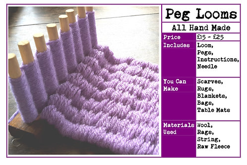 Peg Loom Instruction Booklet