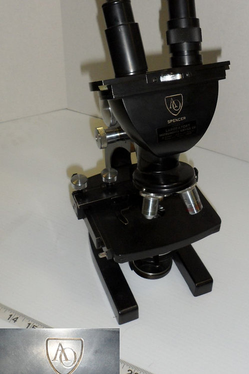 "Spencer Microscope ""Laboratory Instruments Service Co"""