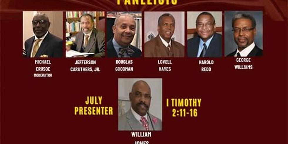 Preacher's Panel Discussion | July 2021