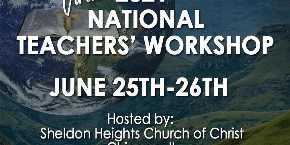 National Teachers' Workshop